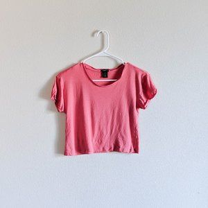Rue21 Pink Crop Top